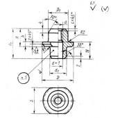 ГОСТ 18797-80: Гайки для пружинных пакетов с направлением. Конструкция и размеры
