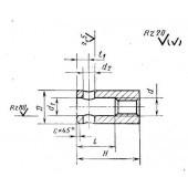 ГОСТ 13427-68: Гайки с отверстием под рукоятку для станочных приспособлений. Конструкция и размеры