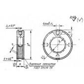 ГОСТ 13040-67: Гайки круглые к вспомогательному инструменту. Размеры