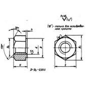 ГОСТ 10495-80: Гайки шестигранные для фланцевых соединений