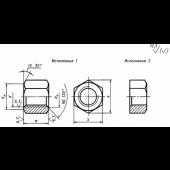 ГОСТ 15525-70: Гайки шестигранные особо высокие класса точности В