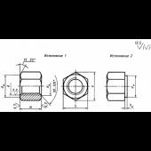 ГОСТ 15524-70: Гайки шестигранные высокие класса точности А