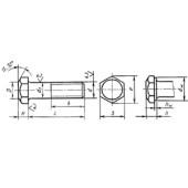 ГОСТ 7798-70: Болты с шестигранной головкой класса точности В
