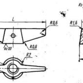 ГОСТ 3385-69: Гайки крыльчатые. Конструкция и размеры