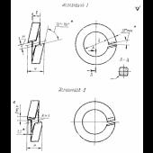 ГОСТ 19115-91 : Шайбы пружинные путевые. Технические условия
