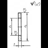 ГОСТ 22355-77 : Шайбы класса точности С к высокопрочным болтам