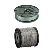 DIN 3055: Трос стальной оцинкованный без оплетки