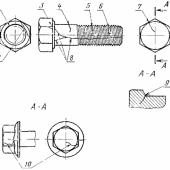 ГОСТ 1759.2-82 (CT СЭВ 2179-80) : Болты, винты и шпильки. Дефекты поверхности и методы контроля