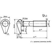 ГОСТ 799-73: Болты путевые для скрепления рельсов широкой колеи