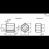 ГОСТ 15523-70: Гайки шестигранные высокие класса точности В