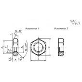 ГОСТ 15522-70: Гайки шестигранные низкие с уменьшенным размером «под ключ» класса точности В. Конструкция и размеры