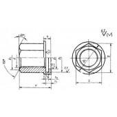 ГОСТ 12946-67: Гайки подвесные с буртиком для станочных приспособлений. Конструкция