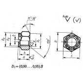 ГОСТ 10606-72: Гайки шестигранные корончатые с диаметром резьбы свыше 48 мм