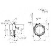 ГОСТ 16046-70: Гайки накидные полусферических ниппелей для соединений трубопроводов по внутреннему конусу. Конструкция и размеры