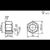 ГОСТ 16018-79 (ИСО 6305-4-85): Гайки для клеммных и закладных болтов рельсовых скреплений железнодорожного пути. Конструкция и размеры. Технические требования