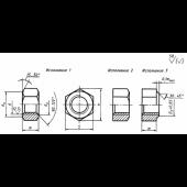 ГОСТ 15526-70: Гайки шестигранные класса точности С