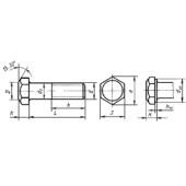 ГОСТ 7805-70: Болты с шестигранной головкой класса точности А