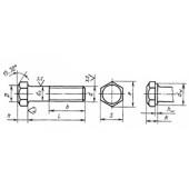 ГОСТ 7808-70: Болты с шестигранной уменьшенной головкой класса точности А