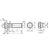 ГОСТ 7811-70: Болты с шестигранной уменьшенной головкой и направляющим подголовком класса точности А