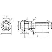 ГОСТ 8144-73: Болты путевые для скрепления рельсов узкой колеи