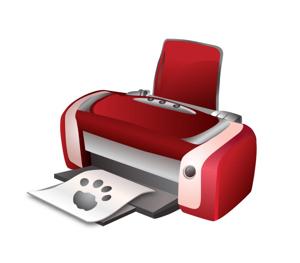 принтер без тени