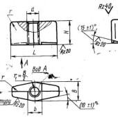 ГОСТ 4088-69: Гайки фасонные. Конструкция и размеры