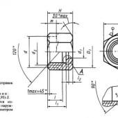 ГОСТ 23353-78: Соединения трубопроводов резьбовые. Гайки накидные. Конструкция