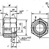 ГОСТ 28941.26-91: Соединения трубопроводов с развальцовкой трубы. Гайки накидные. Конструкция