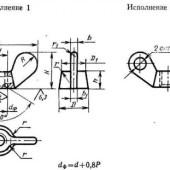 ГОСТ 3032-76: Гайки-барашки. Конструкция и размеры